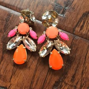 Stella & Dot Studs with Detachable Chandelier